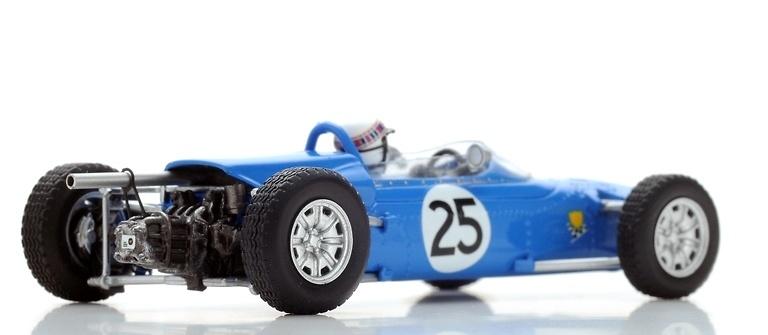 Matra MS1 N°25 Test Goodwood nº 25 Jackie Stewart (1966) Spark S5412 1:43
