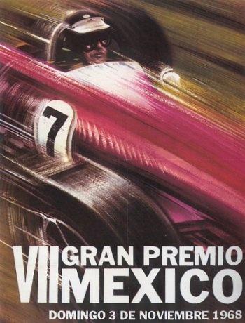 GP. F1 México 1968