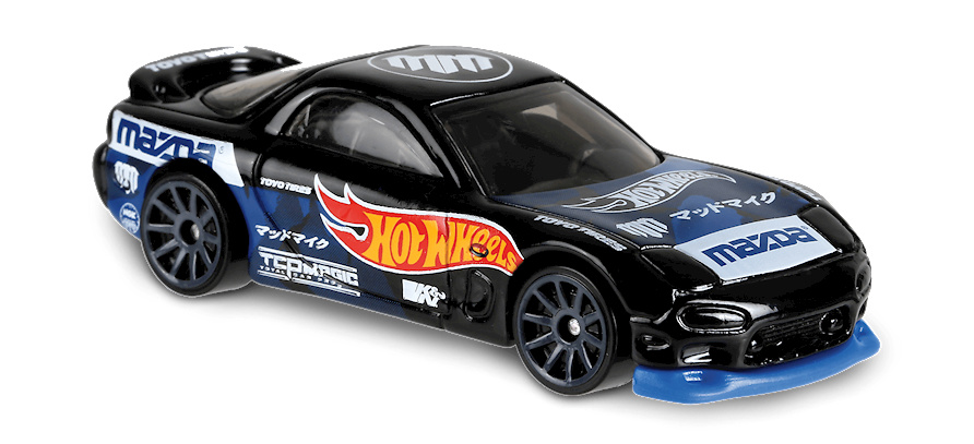Mazda RX7 -Speed Graphics- (1995) Hot Wheels FYD04 1/64