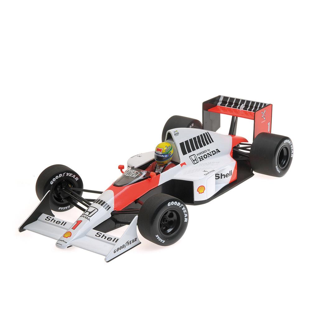 McLaren Honda MP4/5 nº 1 Ayrton Senna (1989) Minichamps 540891801 1:18