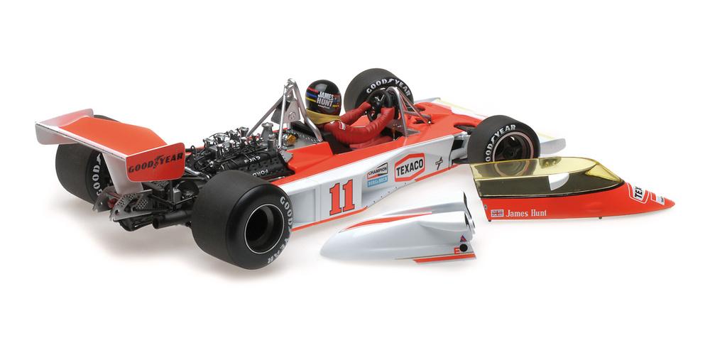 McLaren M23 nº 11 James Hunt (1976) Minichamps 186760011 1:18