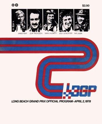Poster del GP. F1 USA Ouset de 1978