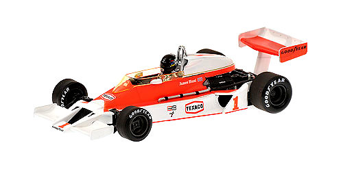 McLaren M26 nº 1 James Hunt (1977) Minichamps 530774301 1/43