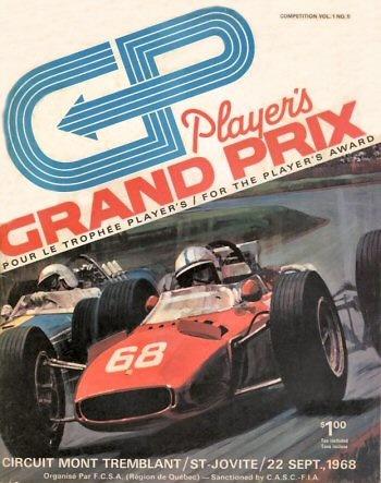 Poster del GP. F1 de Canadá de 1968