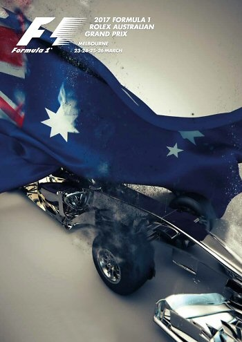 Poster del GP. de Australia de 2017