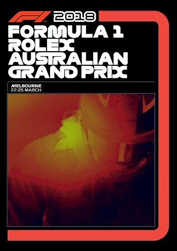 Poster GP. F1 Australia 2018