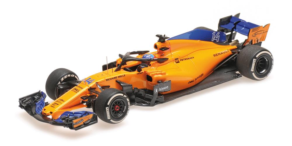 McLaren MCL33 nº 14 Fernando Alonso (2018) Minichamps 537184314 1/43