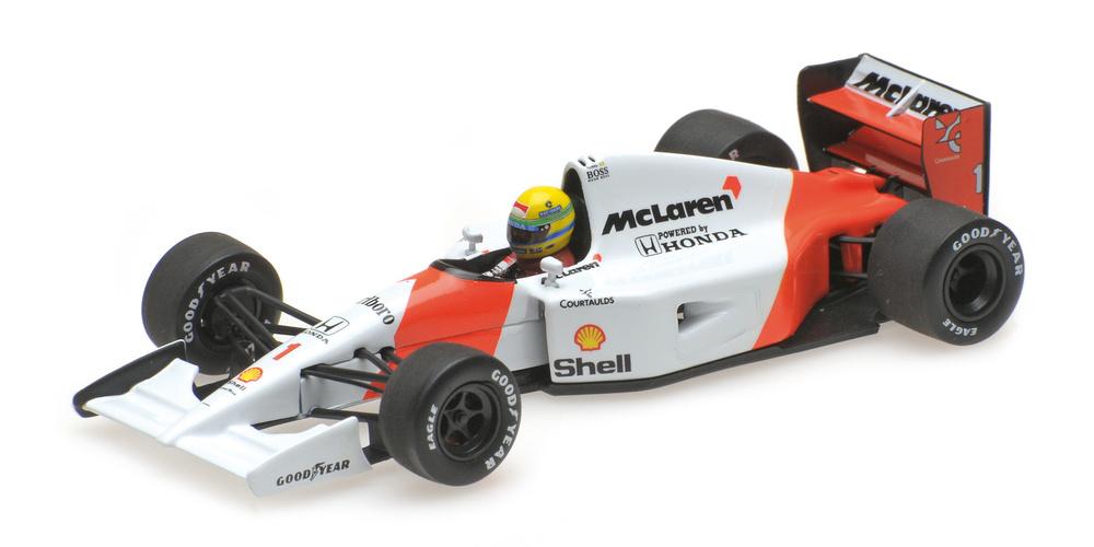 McLaren MP 4/7 nº 1 Ayrton Senna (1992) Minichamps 540924301 1:43