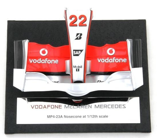 McLaren MP24/23 Frontal del Monoplaza Nº 22 L. Hamilton (2008) Amalgam M5194 1/12