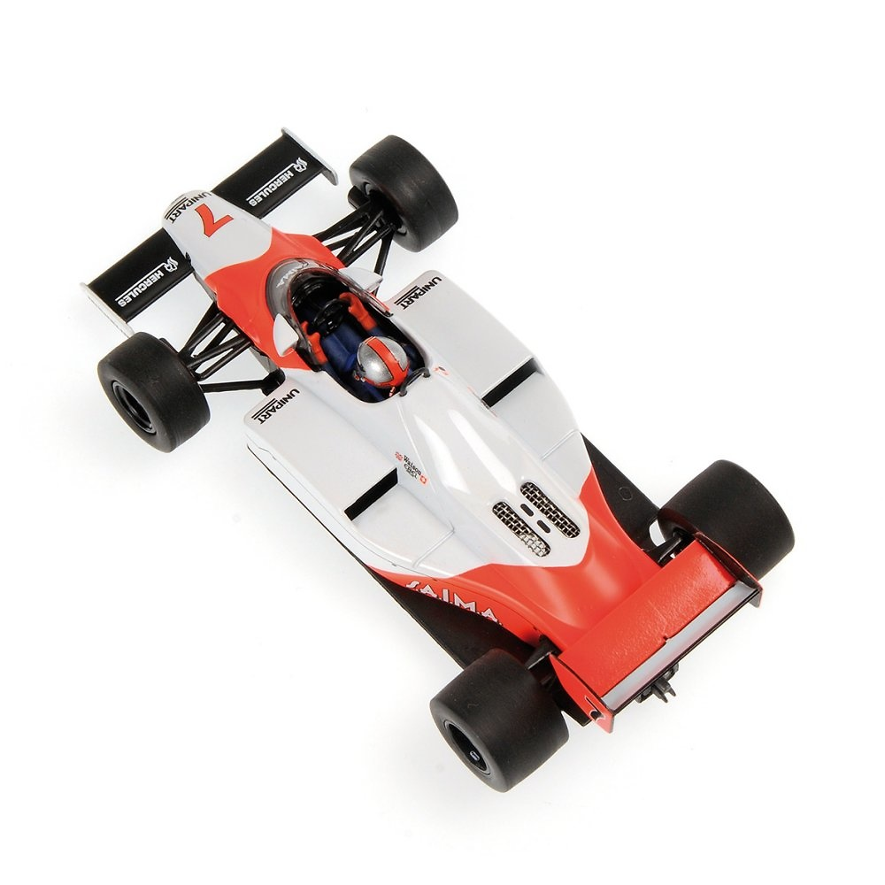 McLaren MP4-1C nº 7 John Watson (1983) Minichamps 530834307 1:43
