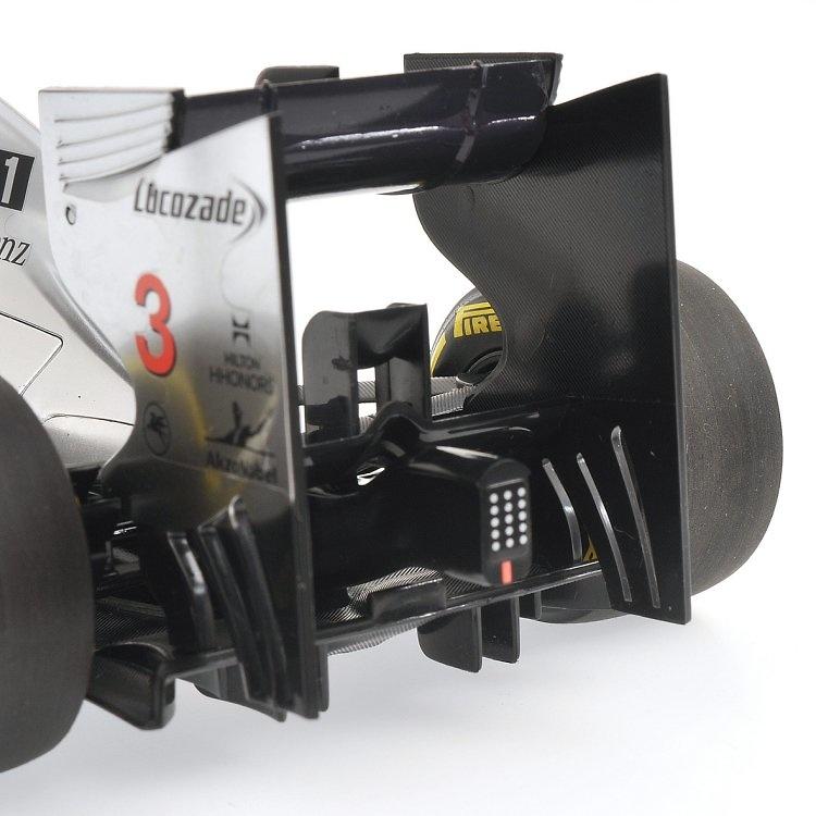 McLaren MP4-27 nº 3 Jenson Button (2012) Minichamps 1:18 530121803