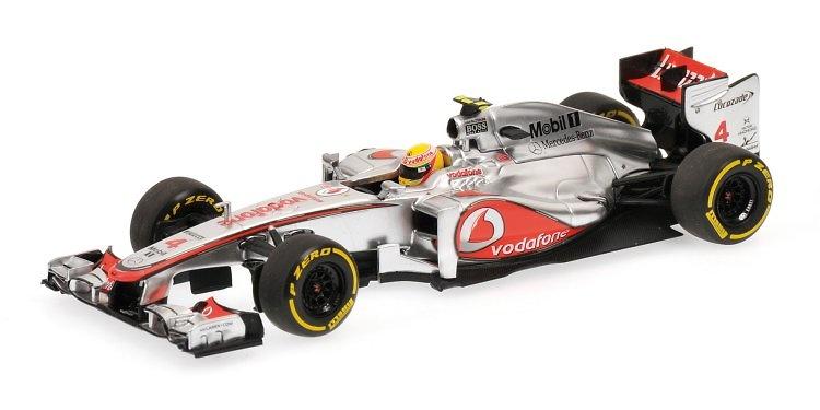 McLaren MP4-27 nº 4 Lewis Hamilton (2012) Minichamps 1:43