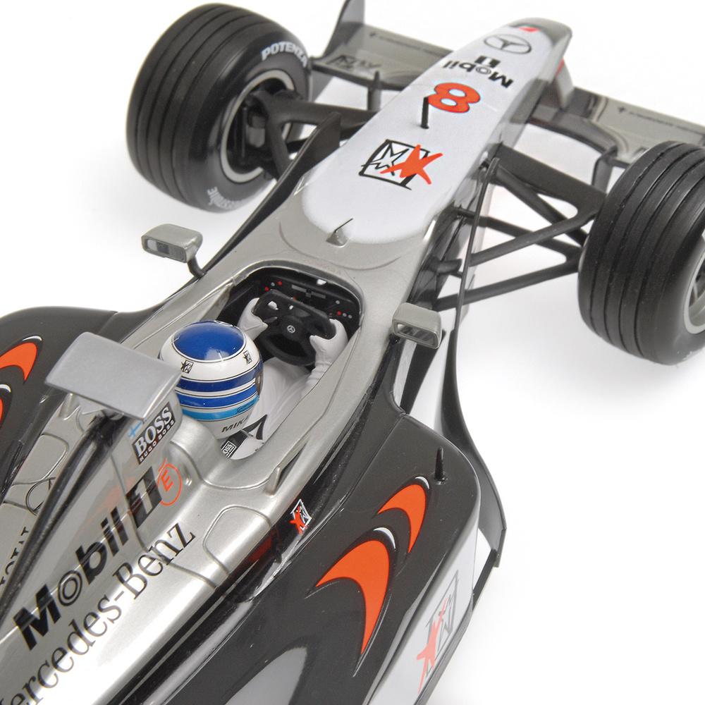 McLaren MP4/13 nº 8 Mika Hakkinen (1998) Minichamps 186980008 1/18