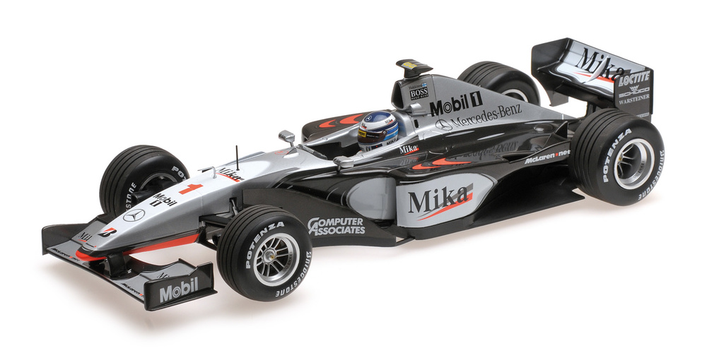 McLaren MP4/14 nº 1 Mika Hakkinen (1999) Minichamps 186990001 1:18