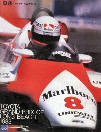 Poster del GP. F1 de Long Beach de 1983