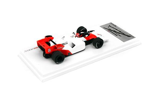 McLaren MP4/2 firmado por nº 8 Niki Lauda (1984) TSM12SS4 1/43