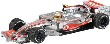 McLaren MP4/22 nº 2 Lewis Hamilton (2007) Minichamps 530074302 1/43