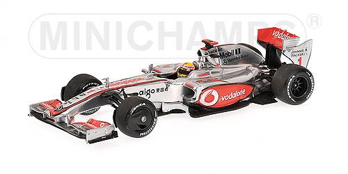 McLaren MP4/24 nº 1 Lewis Hamilton (2009) Minichamps 1/43