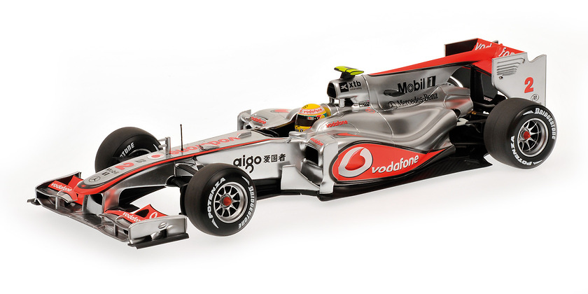 McLaren MP4/25 nº 2 Lewis Hamilton (2010) Minichamps 1/18