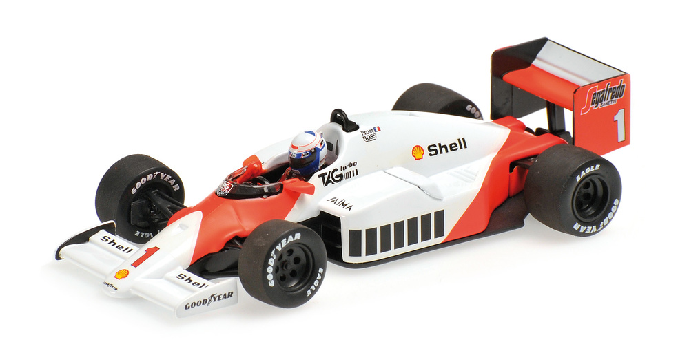 McLaren MP4/2C nº 1 Alain Prost (1986) Minichamps 436860001 1/43