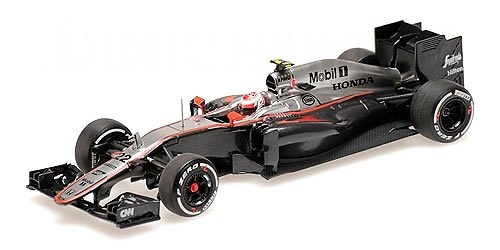McLaren MP4/30 nº 22 Jenson Button (2015) Minichamps 530154322 1:43