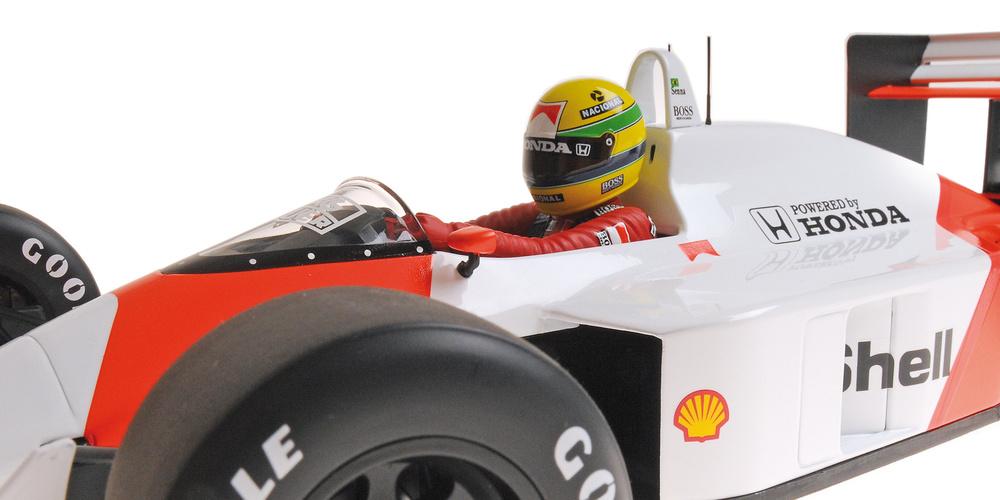 McLaren MP4/4 nº 12 Ayrton Senna (1988) Minichamps 540881212 1:12