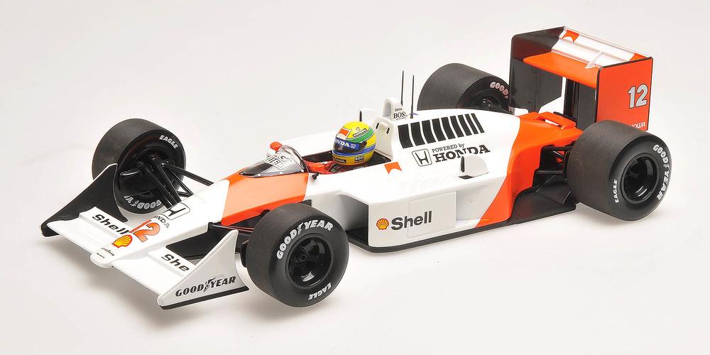 McLaren MP4/4 nº 12 Ayrton Senna (1988) Minichamps 540881812 1/18