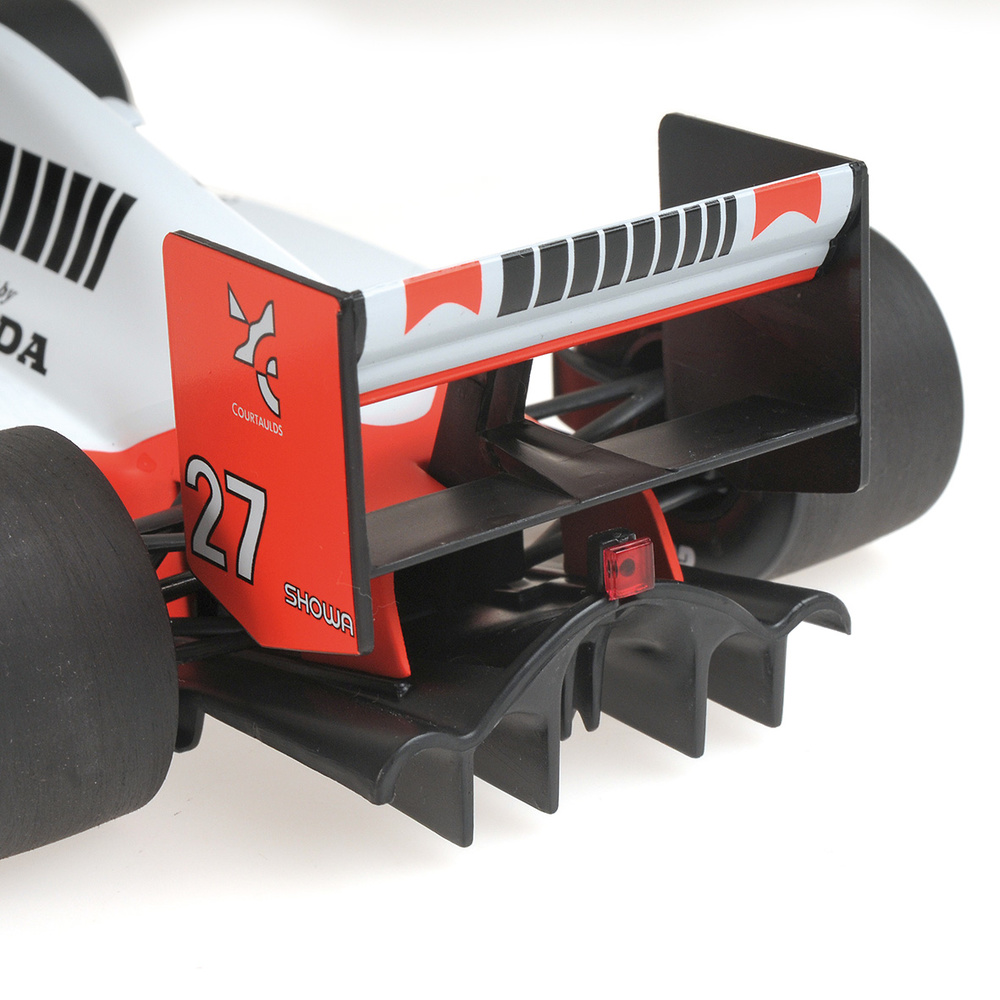McLaren MP4/5B nº 27 Ayrton Senna (1990) Minichamps 540901827 1/18
