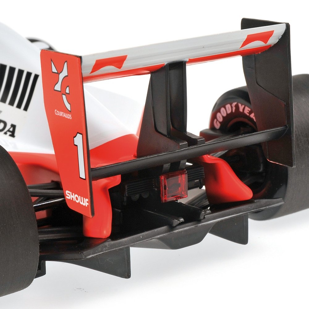 McLaren MP4/6 nº 1 Ayrton Senna (1991) Minichamps 540911801 1/18
