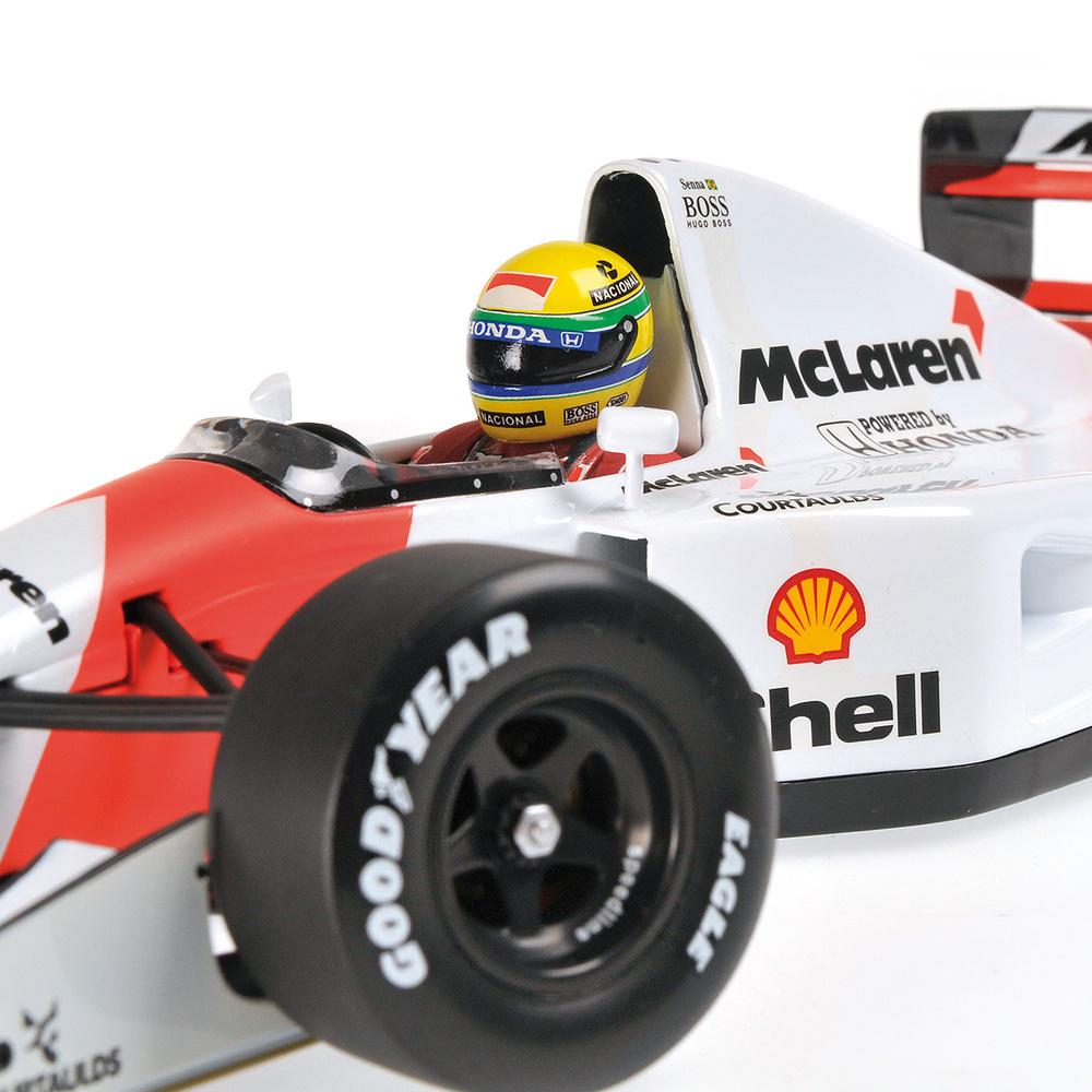 Mclaren MP4-7 nº 1 Ayrton Senna (1992) Minichamps 540921801 1:18