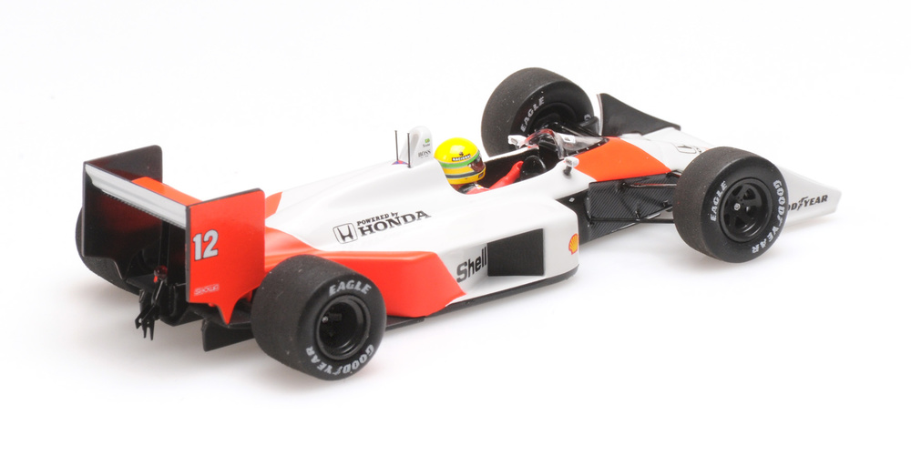 Mclaren MP4/4 GP. Hungría nº 12 Ayrton Senna (1988) Minichamps 547884312 1/43