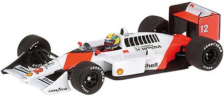 Mclaren MP4/4 nº 12 Ayrton Senna (1988) Minichamps 436880012 1/43