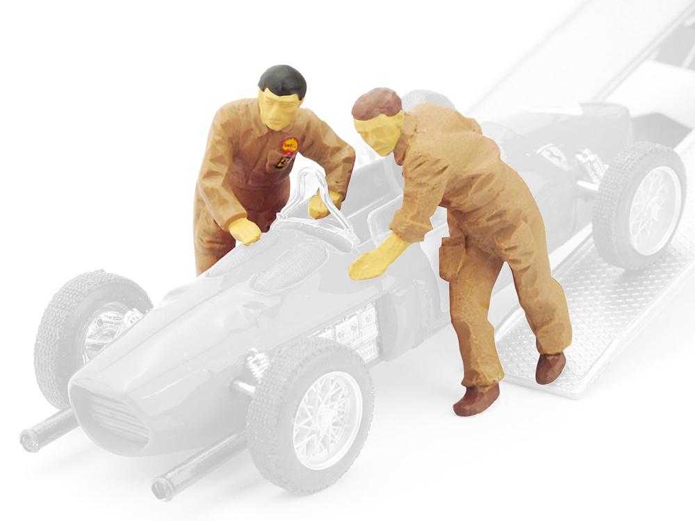 Mecánicos Ferrari -2 unidades- (1961) Brumm F038 1/43