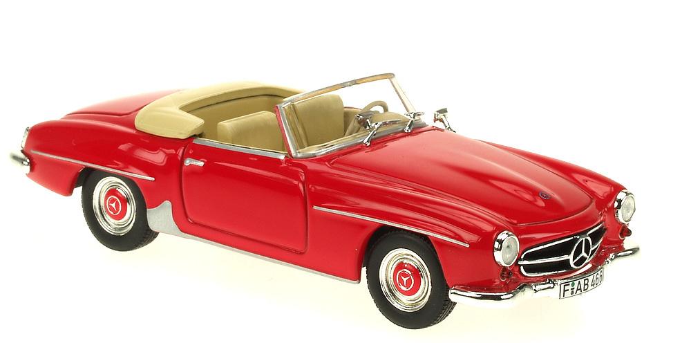 Mercedes 190 SL -W121 II B- (1955) White Box 1:43