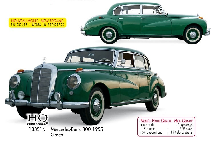Mercedes Benz 300 1955 (1955) Norev 183516 1:18
