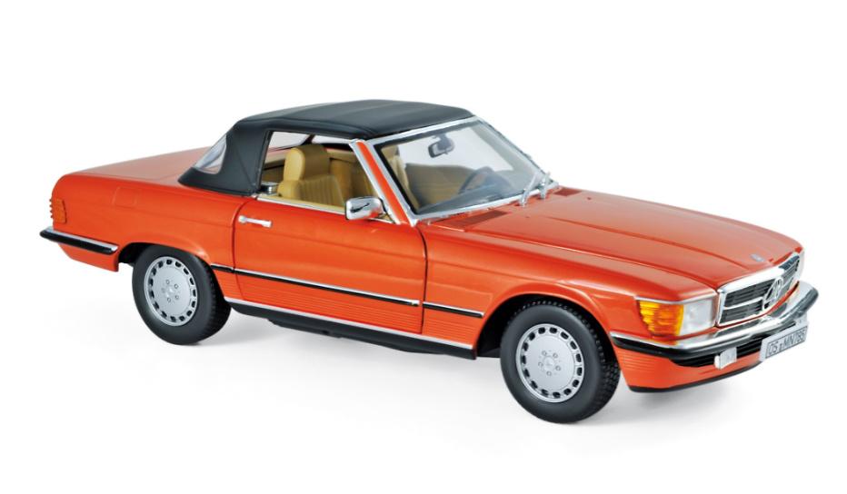 Mercedes 300 SL -R107- (1986) Norev 183467 1:18