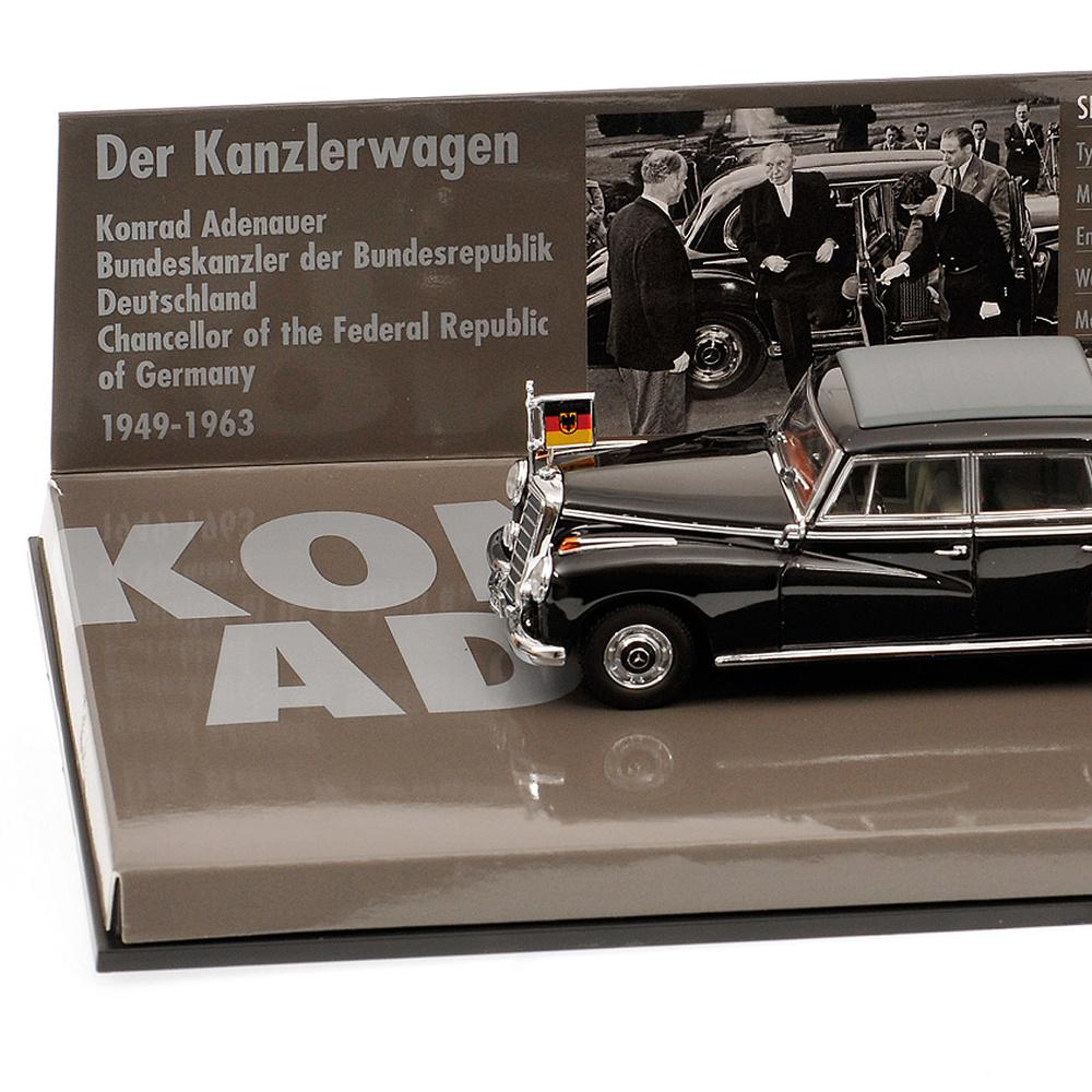 Mercedes 300B Adenauer -W186 III- (1955) Minichamps 436039000 1/43