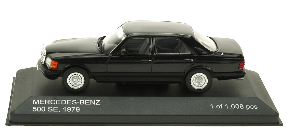 Mercedes Benz 500 SE -W126- (1979) White Box 186667 1:43