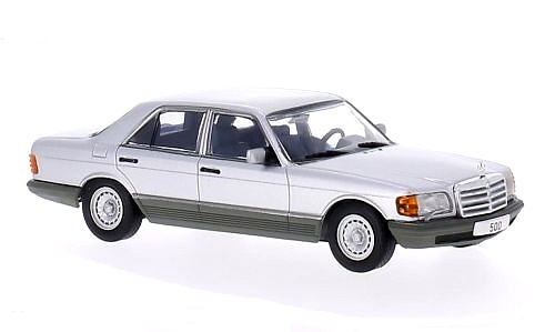 Mercedes 500 SE -W126- (1979) White Box WB179 1:43