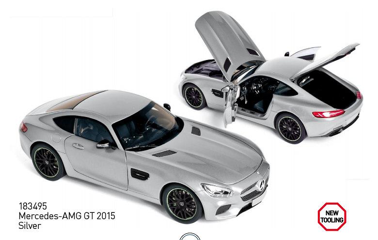 Mercedes AMG GT (2015) Norev 183495 1:18