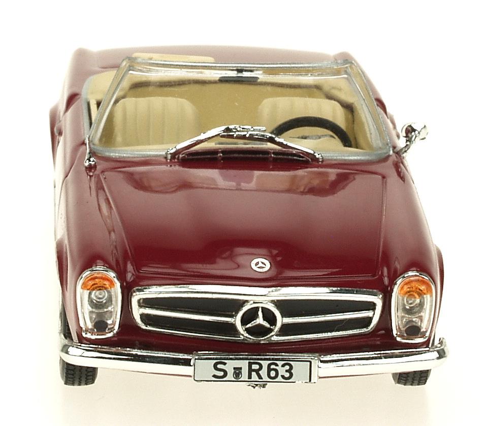 Mercedes Benz 230 SL Cabriolet -W113- (1963) White Box 186663 1:43