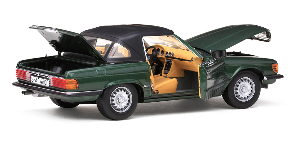 Mercedes Benz 350 SL Convertible -R107- (1971) Sun Star 04600 1/18