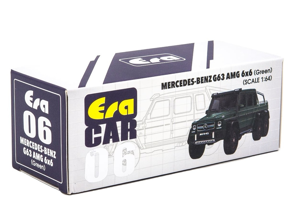 Mercedes Benz G63 AMG 6x6 (2013) Era 38-MB196X6RN06 1/64