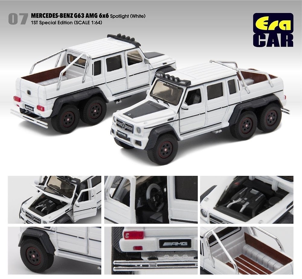 Mercedes Benz G63 AMG 6x6 (2013) Era MB196X6RF07 1/64