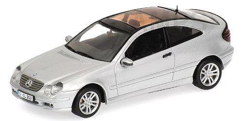 Mercedes Benz Clase C -W203- Sport Coupe (2001) Minichamps 430030002 1/43