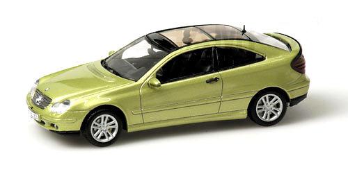 Mercedes Benz Clase C -W203- Sport Coupe (2001) Minichamps 430030001 1/43