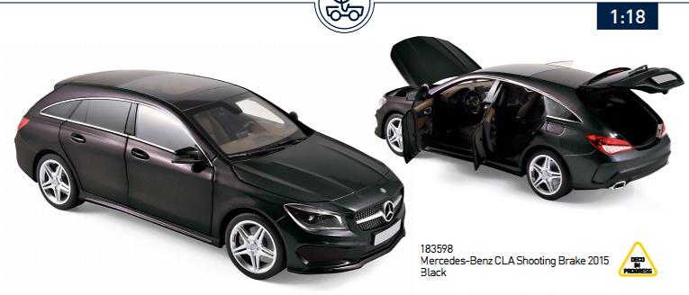 Mercedes-Benz CLA Shooting Brake (2015) Norev 183598 1:18