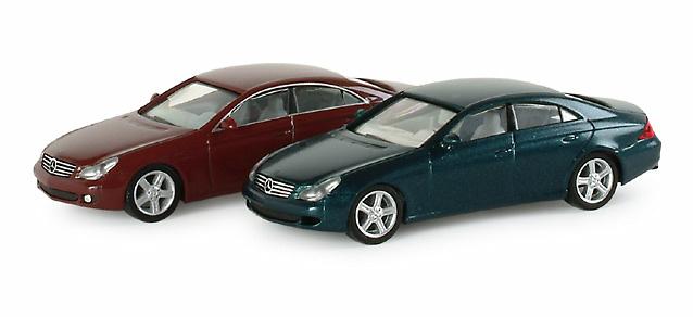 Mercedes Benz Clase CLS -W219- (2004) Herpa 023313 1/87