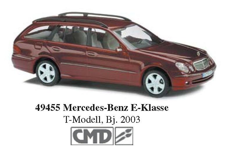 Mercedes Clase E -W210- (2003) Serie T CMD Busch 49455 1/87