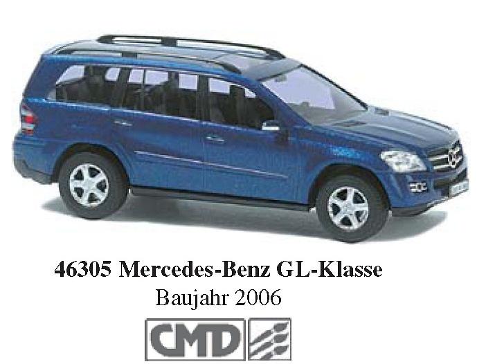 Mercedes Benz Clase GL (2006) Busch 46305 CMD 1/87